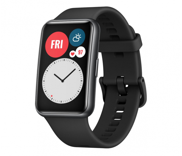 Huawei Watch Fit czarny - 589745 - zdjęcie