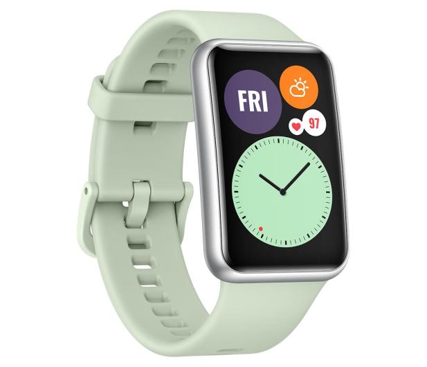 Huawei Watch Fit zielony - 589774 - zdjęcie 3