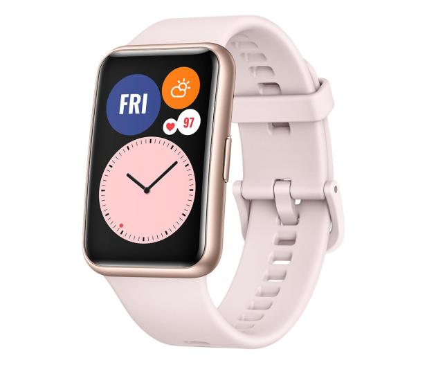 Huawei Watch Fit różowy - 589772 - zdjęcie