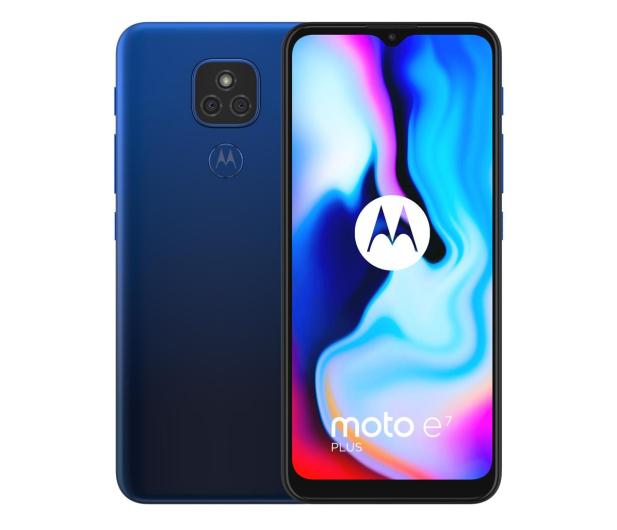 Motorola Moto E7 Plus 4/64GB Misty Blue - 590362 - zdjęcie