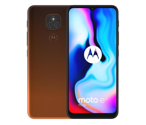Motorola Moto E7 Plus 4/64GB Twilight Orange - 591861 - zdjęcie