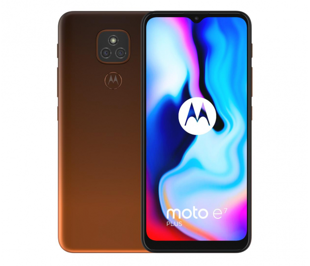 Motorola Moto E7 Plus 4/64GB Twilight Orange + 64GB - 591862 - zdjęcie 2