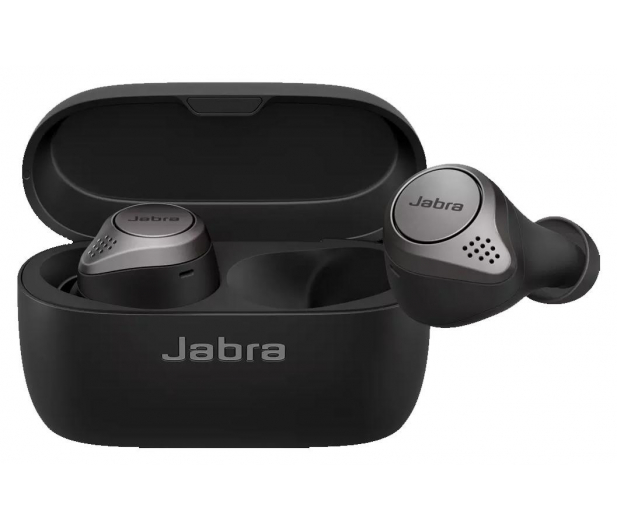 Jabra Elite 75t Active  Wireless Charging srebrne - 590342 - zdjęcie 2