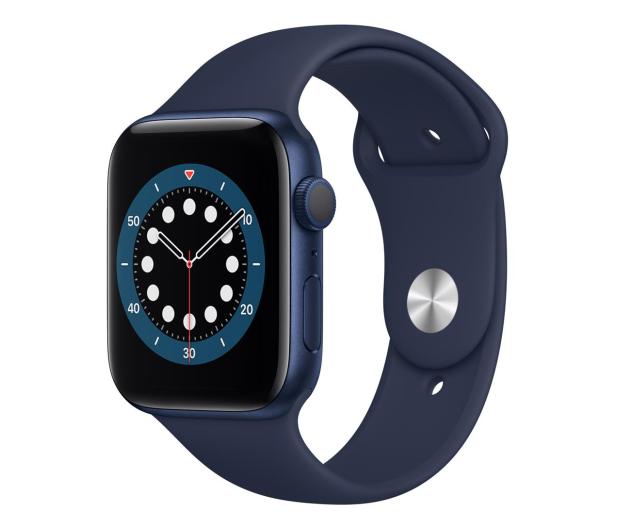 Apple Watch 6 44/Blue Aluminium/Deep Navy Sport GPS - 592191 - zdjęcie