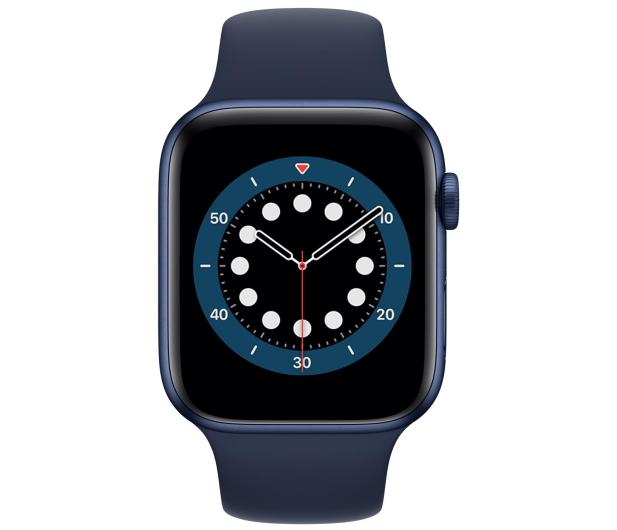 Apple Watch 6 44/Blue Aluminium/Deep Navy Sport GPS - 592191 - zdjęcie 2