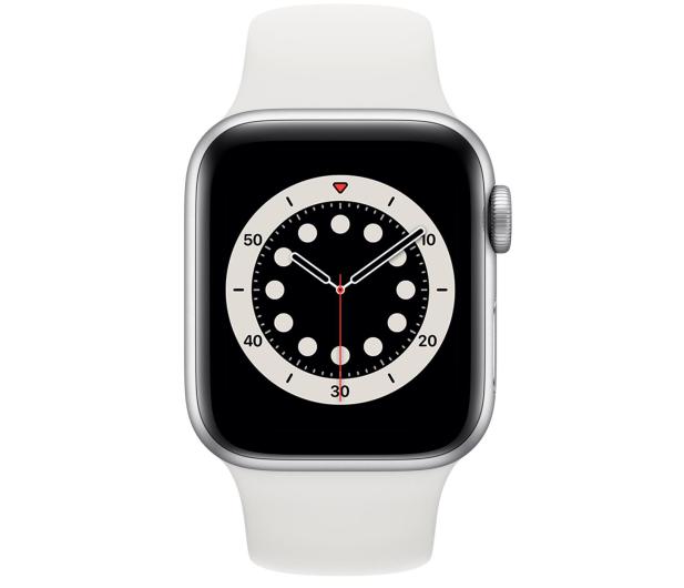Apple Watch 6 40/Silver Aluminium/White Sport GPS - 592195 - zdjęcie 2