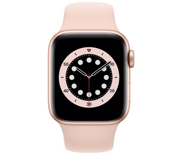 Apple Watch 6 40/Gold Aluminium/Pink Sport GPS - 592187 - zdjęcie 2