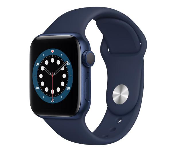 Apple Watch 6 40/Blue Aluminium/Deep Navy Sport GPS - 592190 - zdjęcie