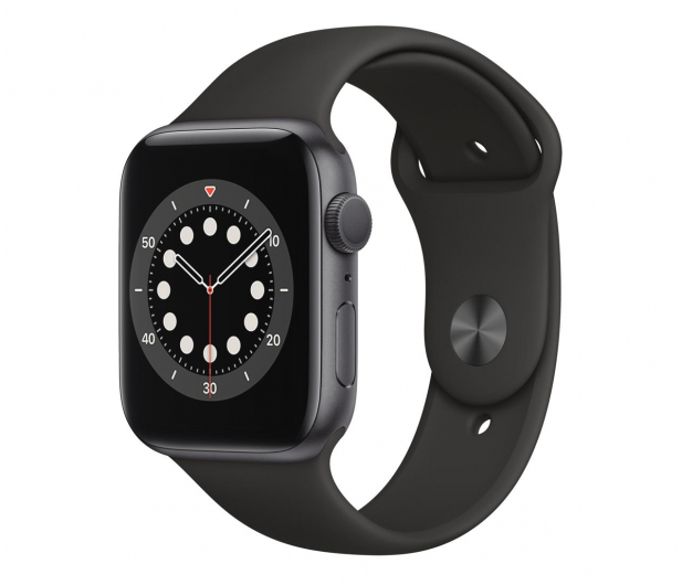 Apple Watch 6 44/Space Gray Aluminium/Black Sport GPS - 592186 - zdjęcie