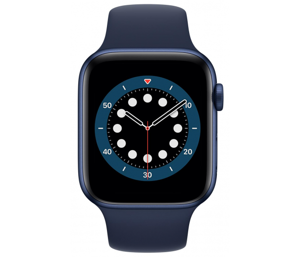 Apple Watch 6 44/Blue Aluminium/Deep Navy Sport LTE - 592203 - zdjęcie 2