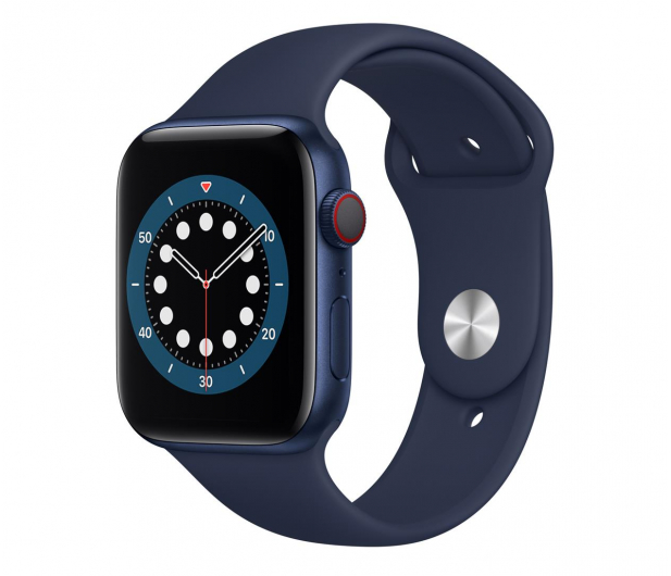 Apple Watch 6 44/Blue Aluminium/Deep Navy Sport LTE - 592203 - zdjęcie