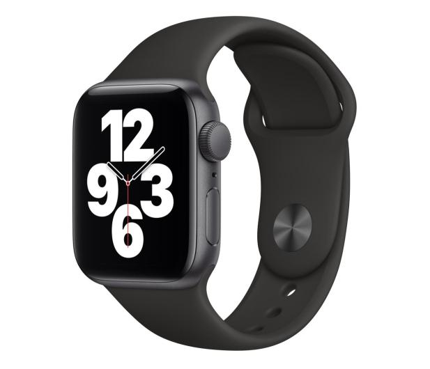 Apple Watch SE 40/Space Gray Aluminium/Black Sport GPS - 592312 - zdjęcie