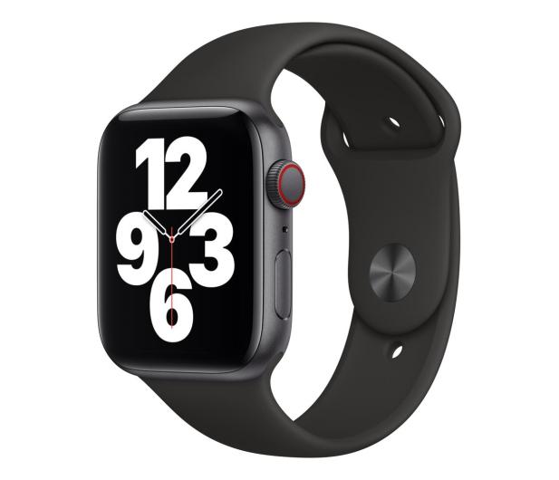 Apple Watch SE 44/Space Gray Aluminium/Black Sport LTE - 592326 - zdjęcie