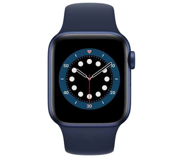 Apple Watch 6 40/Blue Aluminium/Deep Navy Sport LTE - 592202 - zdjęcie 2