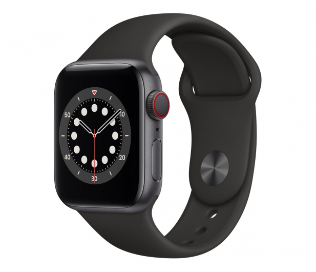 Apple Watch 6 40/Space Gray Aluminium/Black Sport LTE - 592198 - zdjęcie