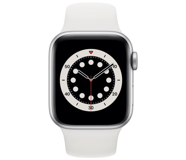 Apple Watch 6 40/Silver Aluminium/White Sport LTE - 592206 - zdjęcie 2