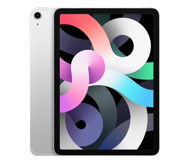 """Apple iPad Air 10,9"""" 256GB Wi-Fi LTE Silver - 592415 - zdjęcie"""