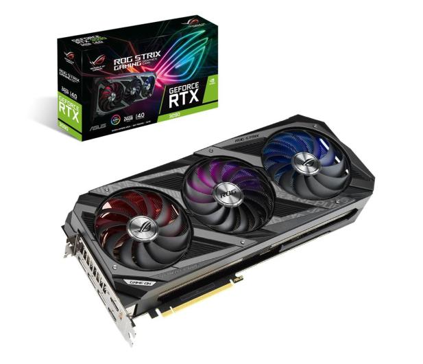 ASUS GeForce RTX 3090 ROG STRIX 24GB GDDR6X - 592540 - zdjęcie