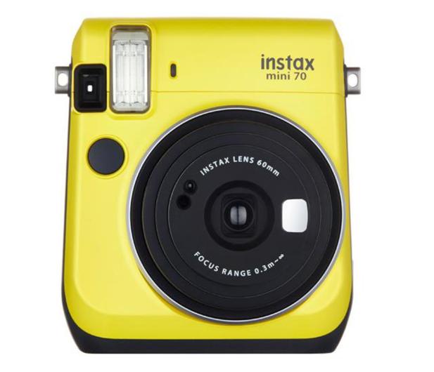 Fujifilm Instax Mini 70 żółty - 269409 - zdjęcie