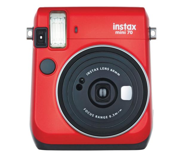 Fujifilm Instax Mini 70 czerwony  - 590327 - zdjęcie