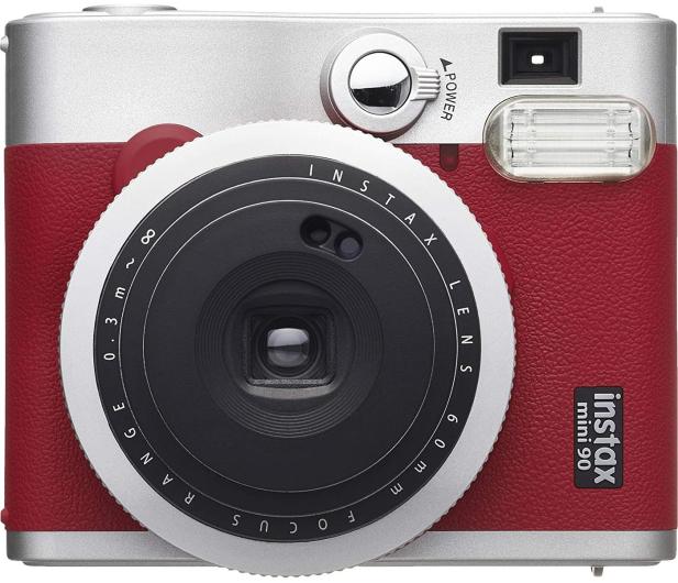 Fujifilm Instax Mini 90 czerwony - 590385 - zdjęcie 3