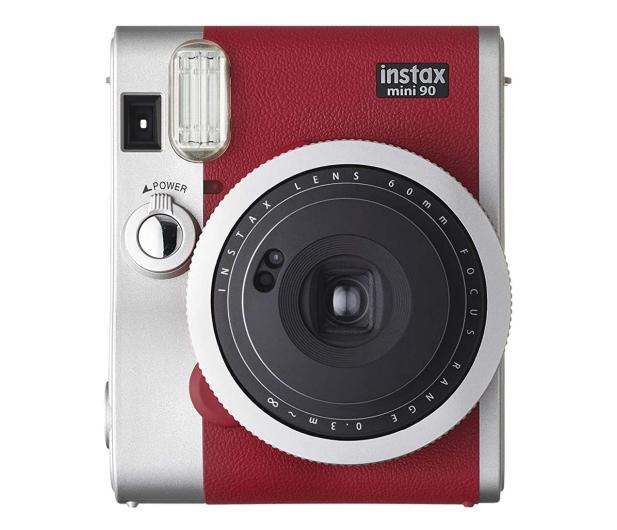 Fujifilm Instax Mini 90 czerwony - 590385 - zdjęcie