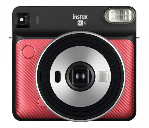 Fujifilm Instax SQ 6 czerwony (Aqua ruby red) - 590394 - zdjęcie