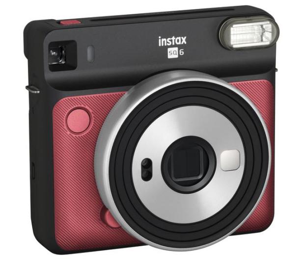 Fujifilm Instax SQ 6 czerwony (Aqua ruby red) - 590394 - zdjęcie 3