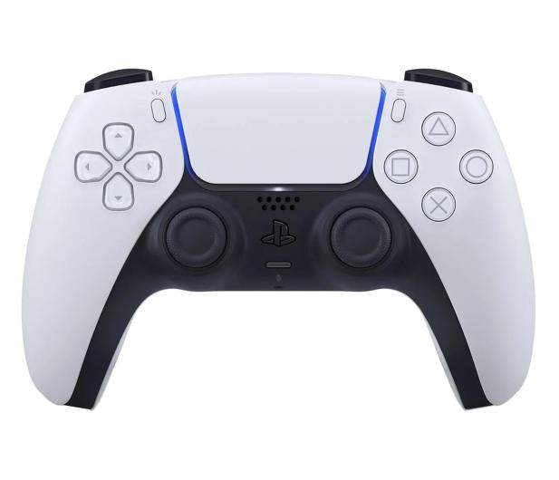 Sony Playstation 5 DualSense Biały - 592848 - zdjęcie