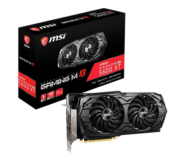 MSI Radeon RX 5600 XT GAMING MX 6GB GDDR6 - 591213 - zdjęcie