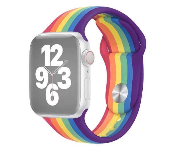 Apple Pasek Sportowy do Apple Watch Pride Edition - 592376 - zdjęcie