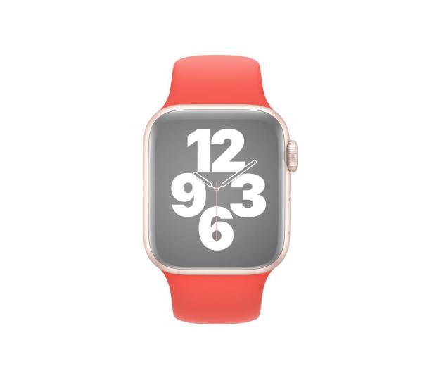 Apple Pasek Sportowy do Apple Watch różowy cytrus - 592377 - zdjęcie 3