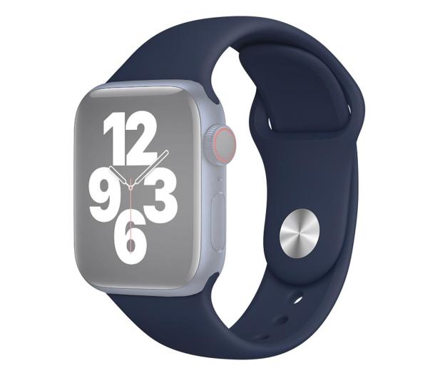 Apple Pasek Sportowy do Apple Watch głęboki granat - 592386 - zdjęcie