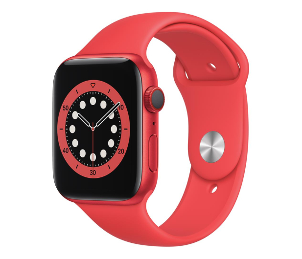 Apple Watch 6 44/(PRODUCT)RED Aluminum/RED Sport LTE - 592205 - zdjęcie