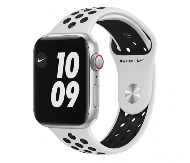 Apple Watch SE Nike 44/Silver/Black Sport LTE - 593017 - zdjęcie
