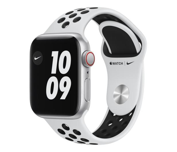Apple Watch SE Nike 40/Silver/Black Sport LTE - 593014 - zdjęcie