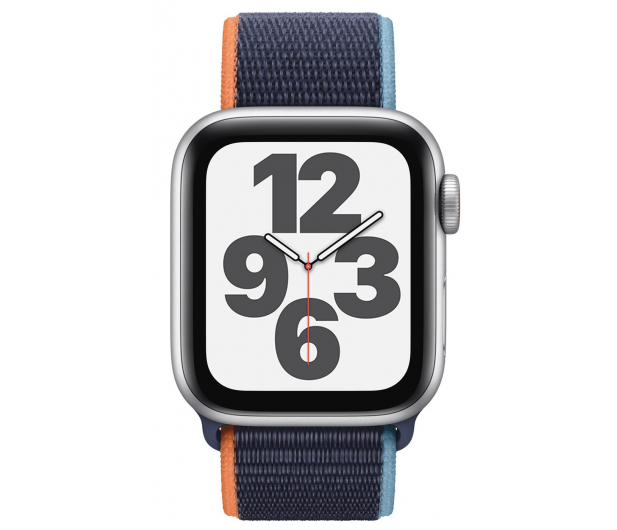Apple Watch SE 40/Silver Aluminium/Navy Sport Loop LTE - 593159 - zdjęcie 2