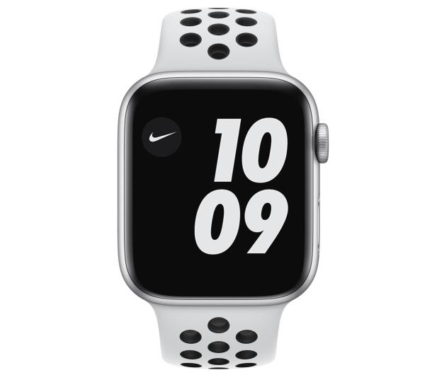 Apple Watch 6 Nike 44/Silver/Black Sport LTE - 592999 - zdjęcie 2