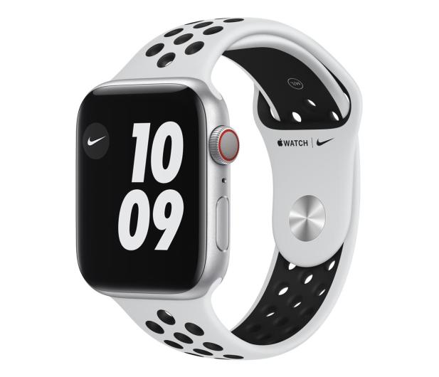 Apple Watch 6 Nike 44/Silver/Black Sport LTE - 592999 - zdjęcie