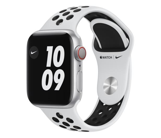 Apple Watch 6 Nike 40/Silver/Black Sport LTE - 593001 - zdjęcie