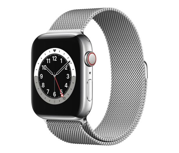 Apple Watch 6 44/Silver Steel/Silver Loop LTE - 593155 - zdjęcie