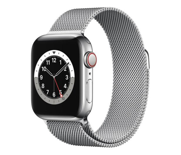 Apple Watch 6 40/Silver Steel/Silver Loop LTE - 593143 - zdjęcie