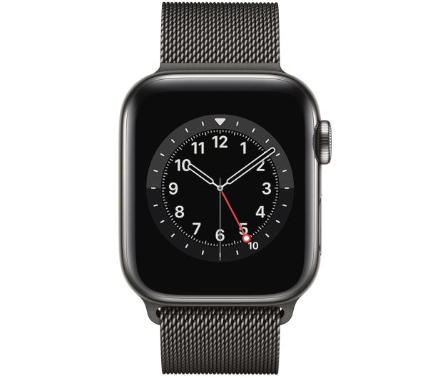 Apple Watch 6 40/Graphite Steel/Graphite Loop LTE - 593157 - zdjęcie 2