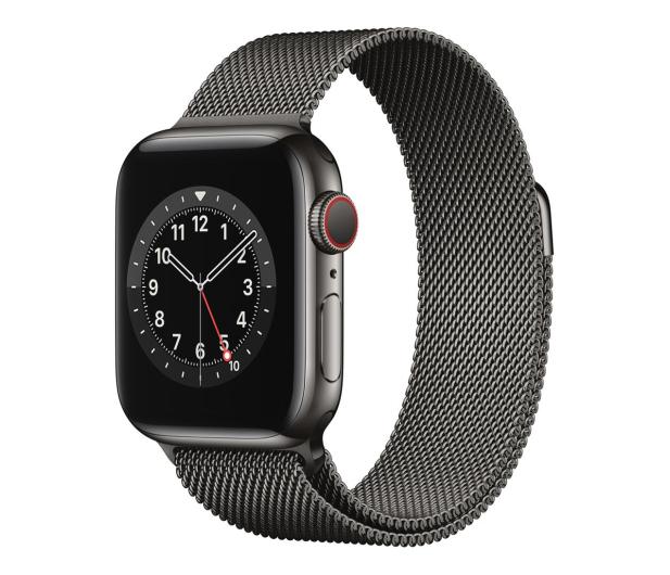 Apple Watch 6 40/Graphite Steel/Graphite Loop LTE - 593157 - zdjęcie