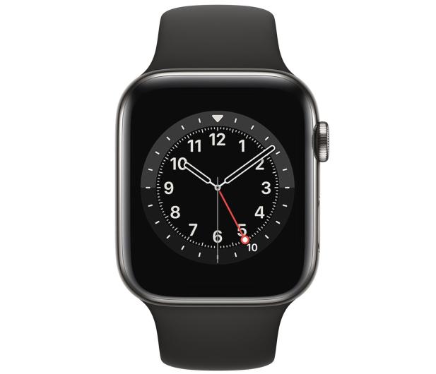 Apple Watch 6 40/Graphite Steel/Black Sport LTE - 593154 - zdjęcie 2