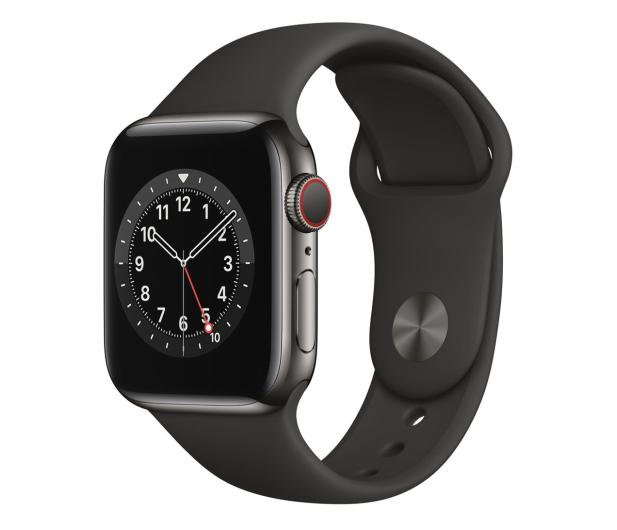 Apple Watch 6 40/Graphite Steel/Black Sport LTE - 593154 - zdjęcie