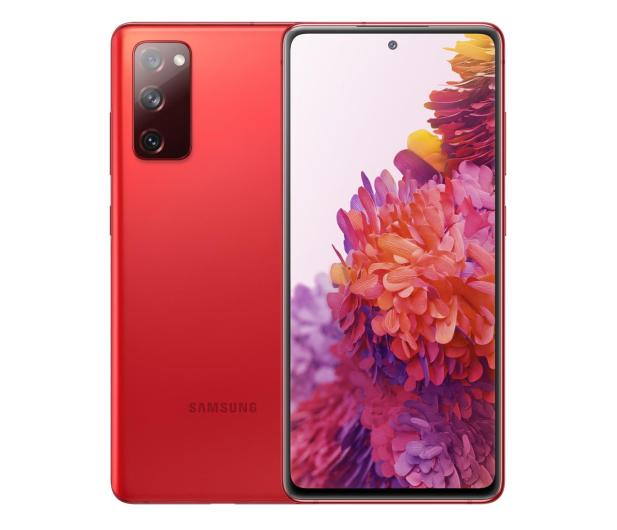 Samsung Galaxy S20 FE 5G Fan Edition Czerwony - 590628 - zdjęcie