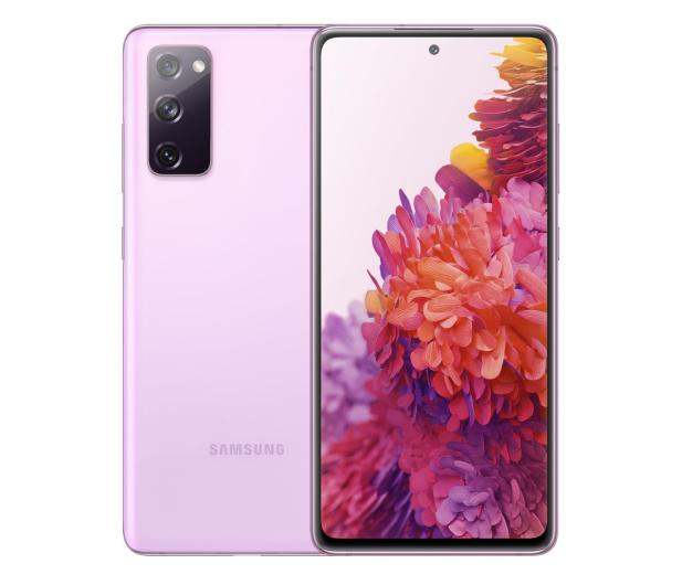 Samsung Galaxy S20 FE 5G Fan Edition Lawendowy  - 590625 - zdjęcie