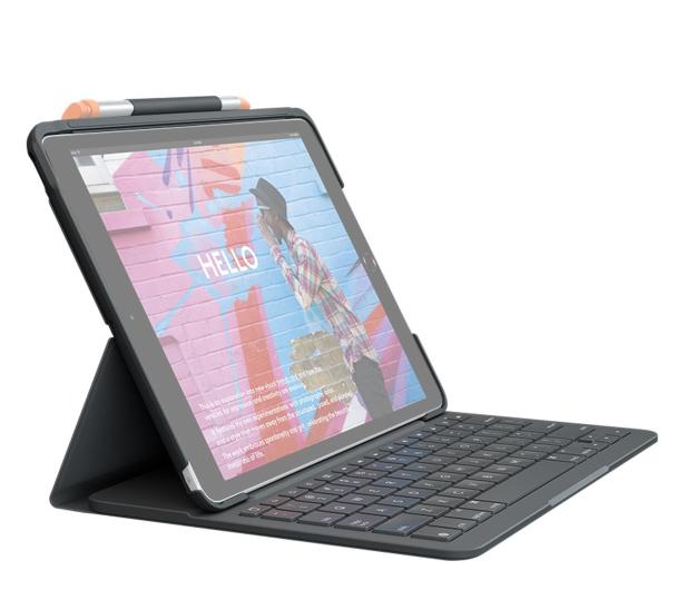 """Logitech Slim Folio iPad 10.2"""" (7. i 8. gen) - 590799 - zdjęcie"""