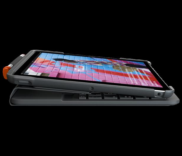 """Logitech Slim Folio iPad 10.2"""" (7. i 8. gen) - 590799 - zdjęcie 3"""